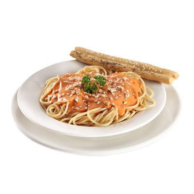 Spaguettis Rosseto