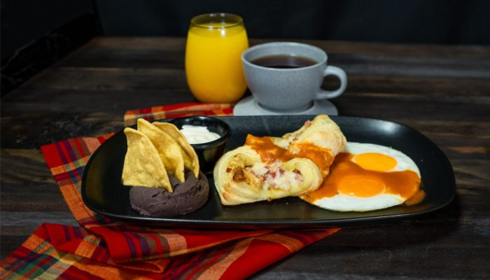 desayunos en Guatemala, Palace