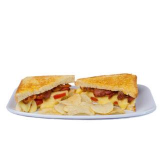 Sándwich de Tocino, queso